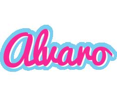 Alvaro popstar logo