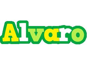 Alvaro soccer logo