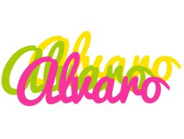 Alvaro sweets logo