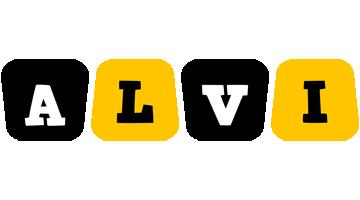 Alvi boots logo