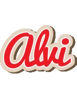 Alvi chocolate logo
