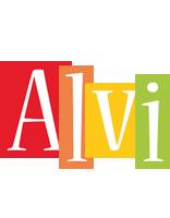 Alvi colors logo