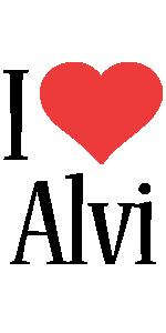 Alvi i-love logo