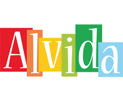 Alvida colors logo
