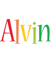 Alvin birthday logo