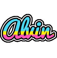 Alvin circus logo