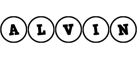 Alvin handy logo