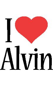 Alvin i-love logo