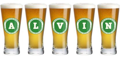 Alvin lager logo
