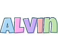 Alvin pastel logo