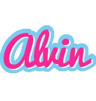 Alvin popstar logo