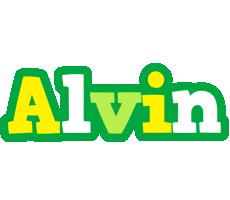 Alvin soccer logo
