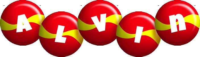 Alvin spain logo