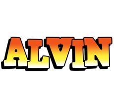 Alvin sunset logo