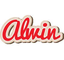 Alwin chocolate logo
