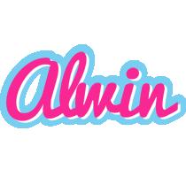 Alwin popstar logo