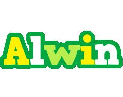 Alwin soccer logo