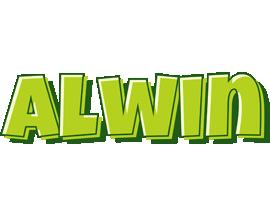 Alwin summer logo