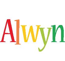Alwyn birthday logo