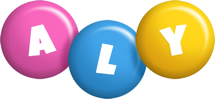 Aly candy logo