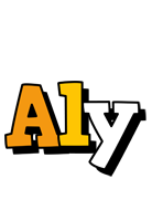 Aly cartoon logo