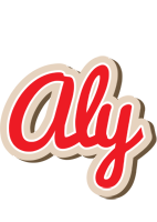 Aly chocolate logo