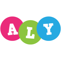 Aly friends logo