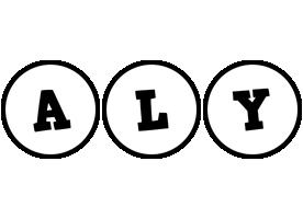Aly handy logo