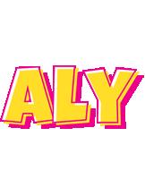 Aly kaboom logo