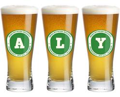 Aly lager logo