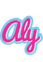 Aly popstar logo