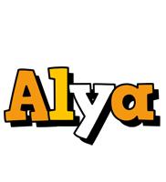 Alya cartoon logo