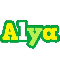Alya soccer logo