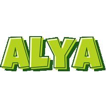 Alya summer logo