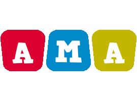 Ama kiddo logo