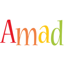 Amad birthday logo