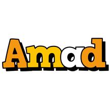 Amad cartoon logo