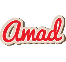 Amad chocolate logo