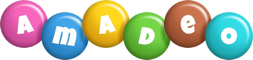 Amadeo candy logo