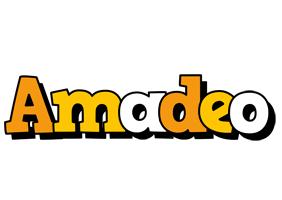 Amadeo cartoon logo