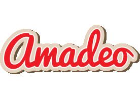 Amadeo chocolate logo