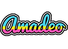 Amadeo circus logo