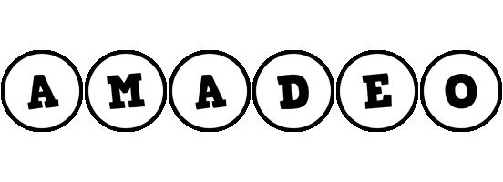 Amadeo handy logo