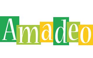Amadeo lemonade logo