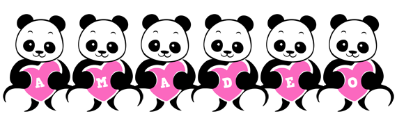 Amadeo love-panda logo