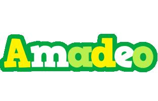 Amadeo soccer logo