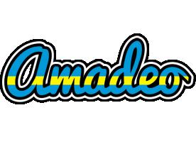 Amadeo sweden logo