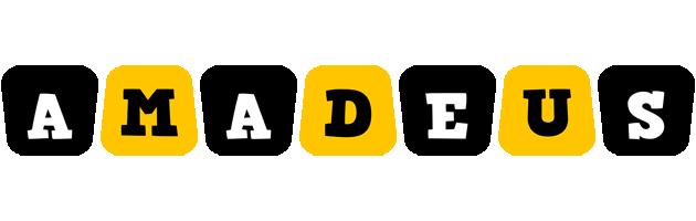 Amadeus boots logo