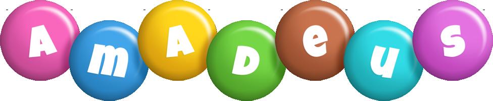 Amadeus candy logo
