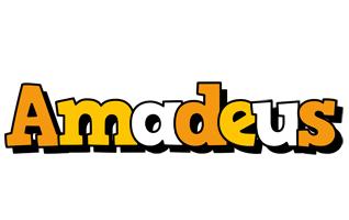 Amadeus cartoon logo